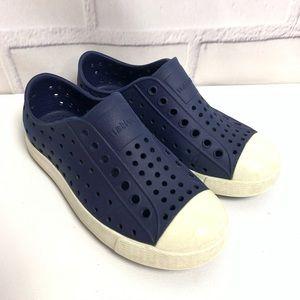 Kids Native Navy Blue Shoes Sz 11